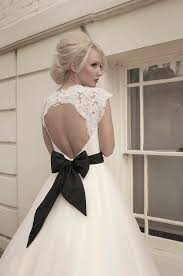 key back wedding dress calf length tulle and lace wedding dress with lace bodice