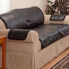 Cover Leather Sofa Waterproof Solid Protective Leather Sofa Cover Buy Protective