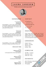 cv template in word fully overwritable 3 color versions in 1