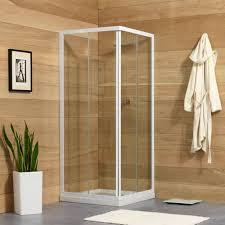 box doccia cristallo 80x80 box doccia 80x80 cm con cristallo trasparente 4 mm