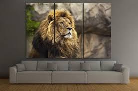 20 photos lion wall art wall art ideas