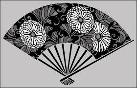 japanese fan japanese stencils from the stencil library buy from our range of