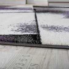 Wohnzimmer Lila Grau Wohnzimmer Teppich Kurzflor Lila Grau Design Teppiche