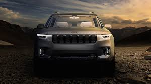 jeep grand wagoneer concept jeep wagoneer spotted in near production form with new details