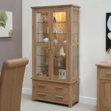 bookshelf with glass doors light brown wood bookshelf with double