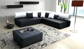 peinture cuir canapé canape angle fresno cuir design panoramique blanc noir tout