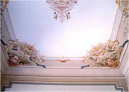 soffitti dipinti atelier donelli villa dei primi anni 900 soffitti e