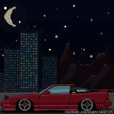 pixel car png 180sx pixel art