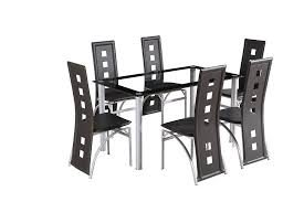 table and 6 chair set crazy sale glass square dining room table set and 6 chairs faux