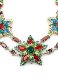 coloured crystal necklace images Necklaces coutura vintage jpg