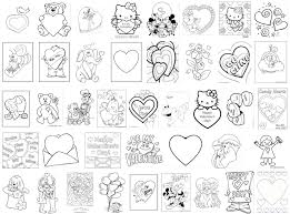 valentine u0027s coloring pages projects preschoolers