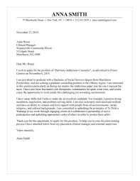 Intent Letter Sample For Job Application by Counsellor Cover Letter
