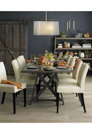 Crate And Barrel Farmhouse Table This Is The Dining Room Table We Want The Big Sur From Crate And