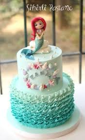 mermaid cakes mermaid cake cake by sihirli pastane ropes
