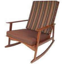 Mid Century Modern Rocking Chair Canadian Mid Century Modern Folding Rocking Chair In Blonde Wood