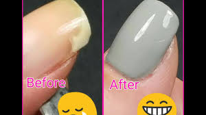 how to fix a broken nail with the glue method cheap nail hack