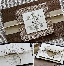 boho chic rustic shabby chic brown gold ivory fall invitations