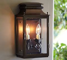 pottery barn lighting sconces bolton indoor outdoor lantern pottery barn lighting pinterest