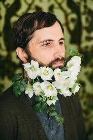 flowers for men men wearing flowers in their beards growing new trend cube breaker