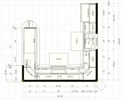 Small Kitchen Floor Plans U Shaped Kitchen Floor Plans Restaurant Floor Plan Design
