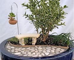 an indoor miniature garden kit by two green thumbs indoor