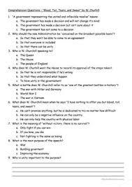 7 free esl blood worksheets