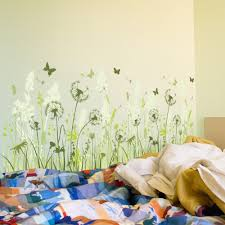 Seafoam Green Wallpaper by Wall Anime Fathead Wall Mural Decal Dandelion Wall Decal