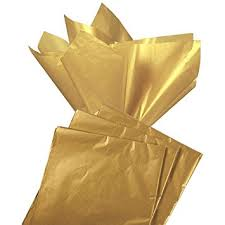 tissue paper gift wrap 60 pack gold tissue paper gift wrapping metallic