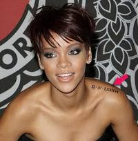 rihanna u0027s tattoos rihanna wiki fandom powered by wikia