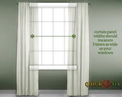 Panels For Windows Decorating How To Buy The Right Size Curtains Panels For Your Windows Decor