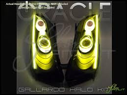oracle 04 14 lamborghini gallardo led halo rings headlights bulbs