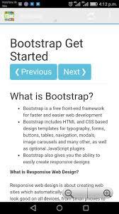 bootstrap tutorial pdf w3schools w3schools offline fulltutorial apk تحميل مجاني تعليم تطبيق