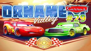 carros 29 gp de ornament valley relampago mcqueen competição