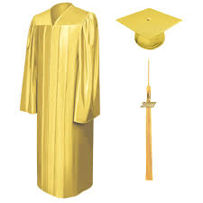 high school cap and gown rental shiny gold elementary cap gown tassel gradshop