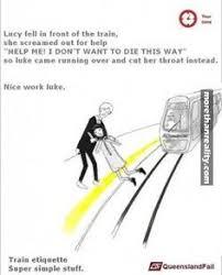 Queensland Rail Meme - queensland rail etiquette poster meme magic pinterest
