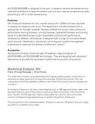 ua jobs under armour brand report under armour