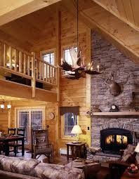 dining room rustic living room design with interesting antler