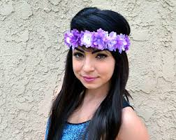 hippie flower headbands etsy your place to buy and sell all things handmade