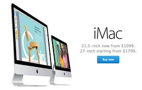 apple launches new cheaper 21 5 inch imac starting at 1 099 mac
