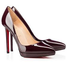 christian louboutin pigalle plato 120mm patent leather pointed toe