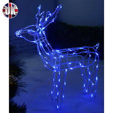 reindeer indoor outdoor lights ebay