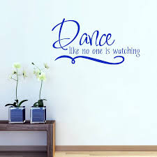 dance like no one is watching wall sticker by mirrorin dance like no one is watching wall sticker