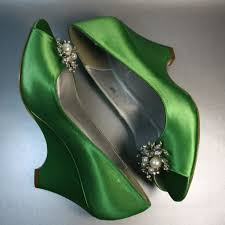 wedding shoes green the green wedding shoes ideal weddings