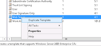 creating a vsphere 6 certificate template in active directory