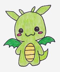 cute dragon drawings cliparts co