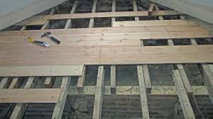 Installing Laminate Wood Flooring Over Plywood How To Install Hardwood Floors Directly Over Joists Wood Floor