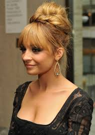 Formal Hairstyles For Medium Straight Hair by Nicole Richie Easy Updo Hairstyle Ebesthair The Hairstyles