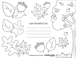 thanksgiving placemats and place cards to canadian living