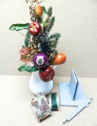 christmas table centerpiece with bowdabra bow bowdabra blog