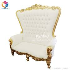 Throne Chairs For Hire Buy China Wedding Double King Throne Chair Bride And Groom Love